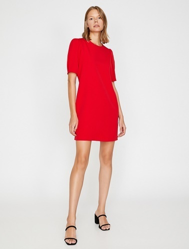 Koton Mini Elbise Kırmızı
